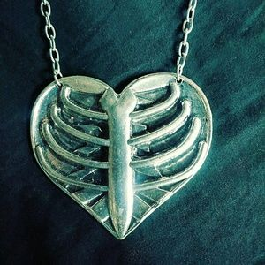 Heart Rib-Cage Necklace